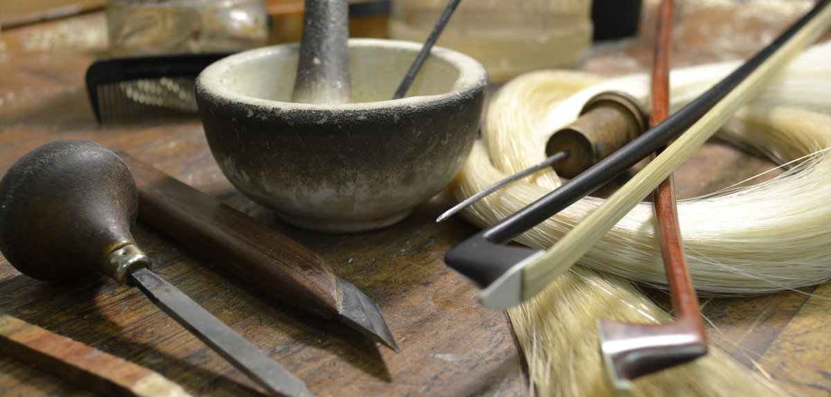 bow rehair tools